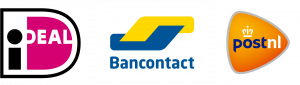 banner payment methods bancontact ideal postnl service shipping method