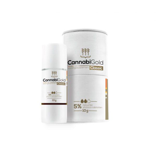 Product image cannabigold cbd oil olie 5% 11ml kopen