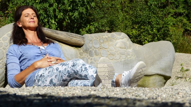 overgang vrouw ontspanning